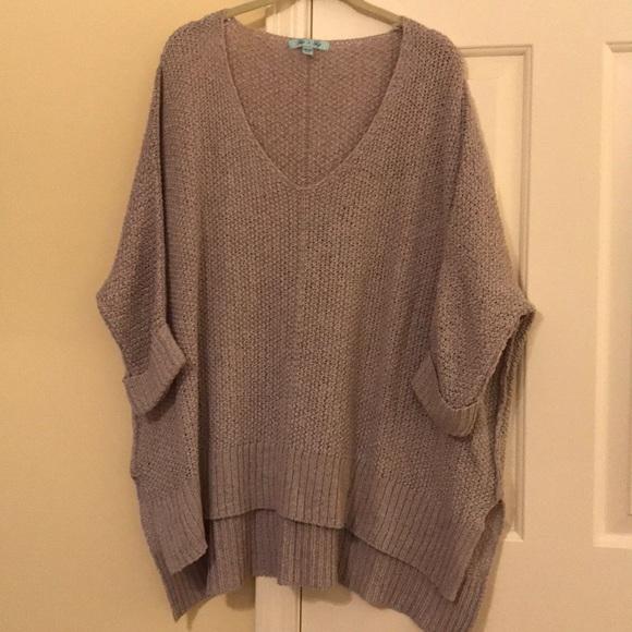 She And Sky Sweaters She Sky Tape Yarn Sweater One Size Poshmark